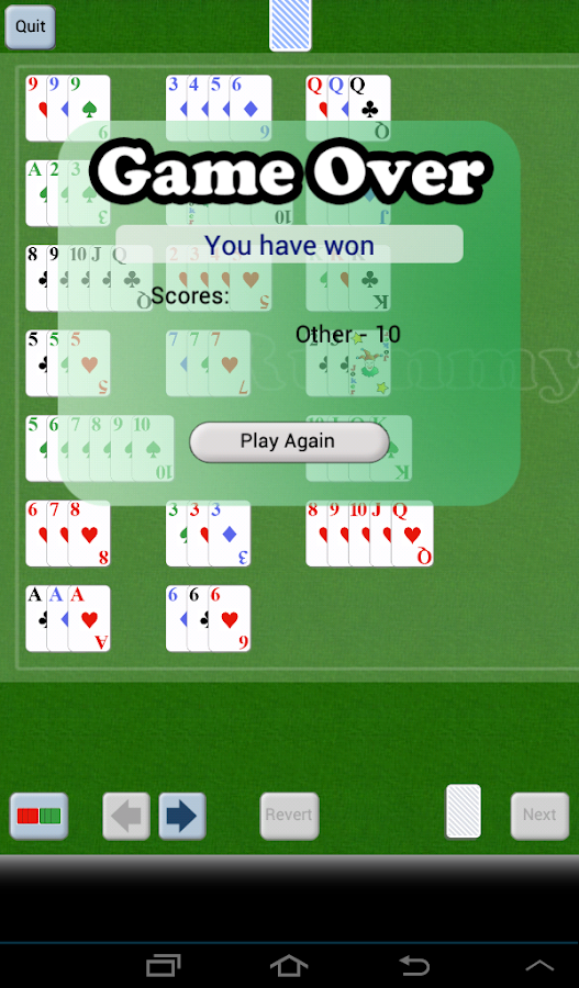 Rummy Mobile- screenshot