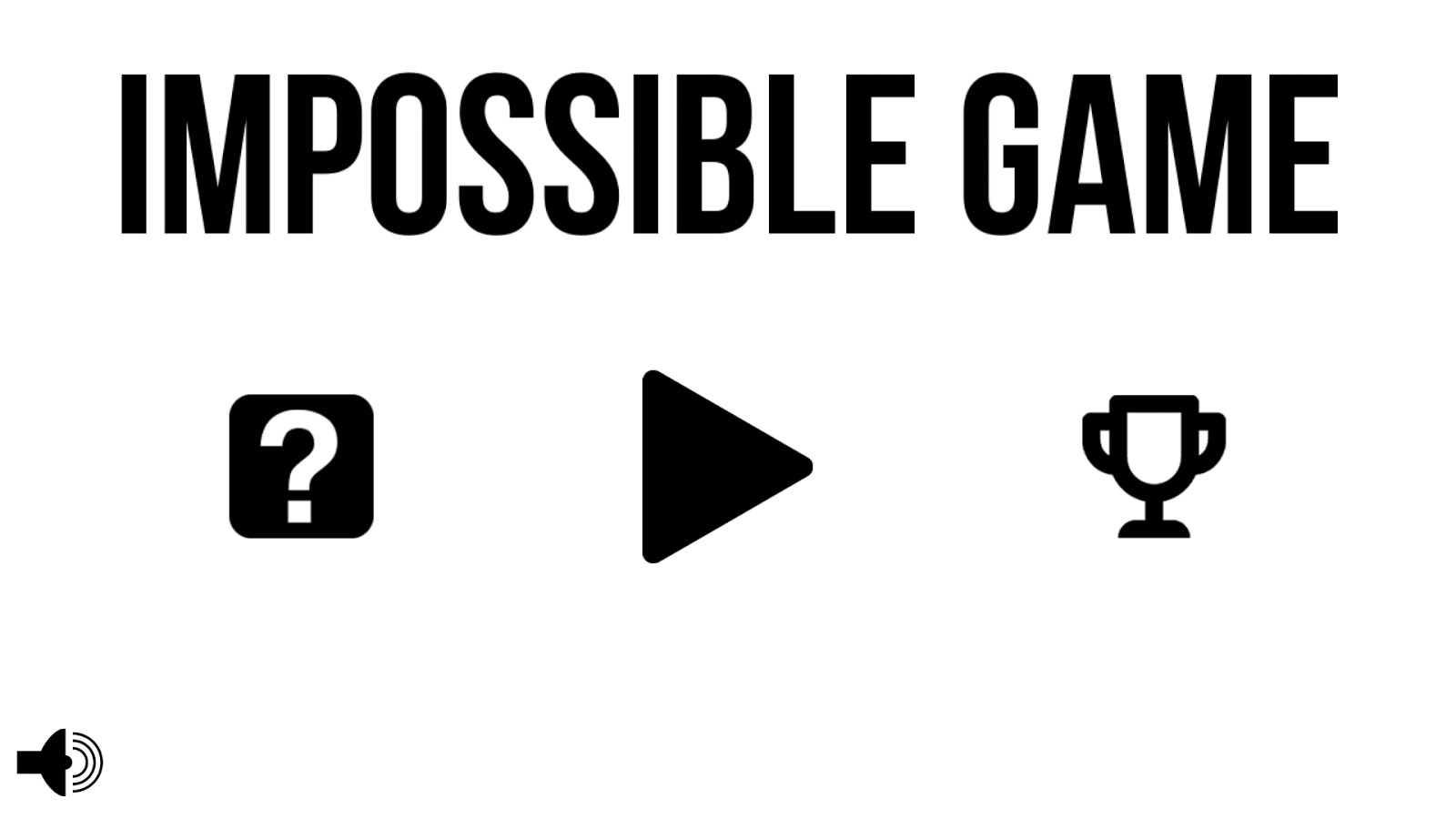 Impossible Game- screenshot