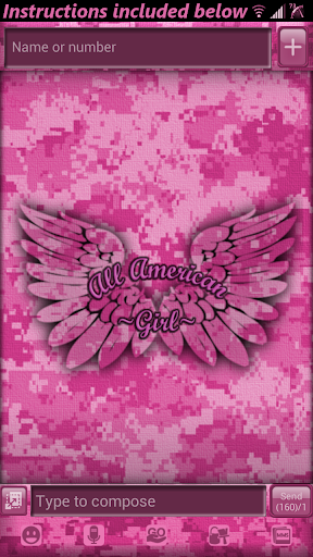 Camo Theme All American Girl
