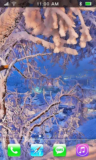 Nice Winter HD live wallpaper