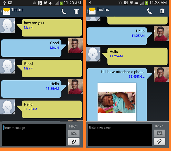 Bien connu SMS MMS Messenger - Android Apps on Google Play RN77