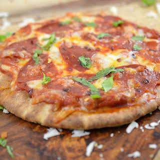 Whole Wheat Pita Pizza.
