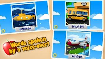 Screenshot of Transport Jigsaw Puzzles Free