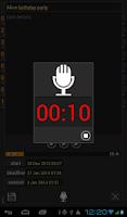 Screenshot of DEADLINE-2DO-NOTES WIDGET
