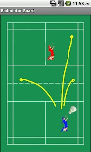 Badminton Tactics Board Lite - screenshot thumbnail