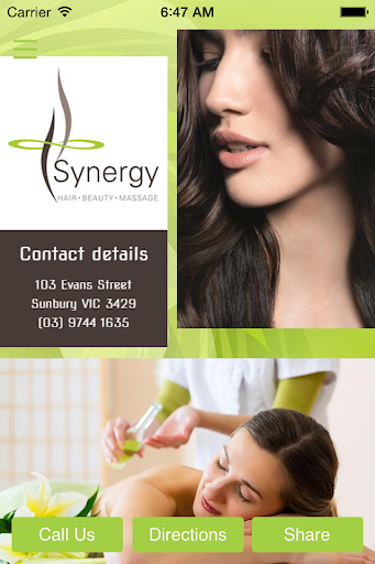 Synergy Hair Beauty Massage