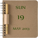 NoteBook Calendar Widget icon