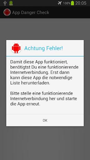 App Danger Check