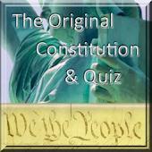 Original Constitution & Quiz