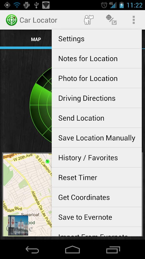 Car Locator TRIAL - screenshot