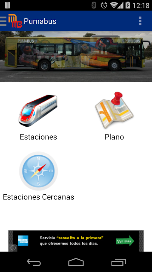 Metro y Metrobus de Mexico- screenshot