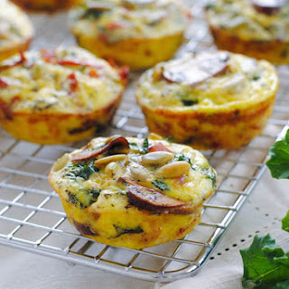 Healthy Savory Breakfast Muffins Recipes.