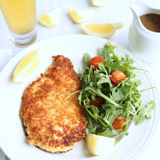Chicken Schnitzel with Gravy Recipe | Australian Style.