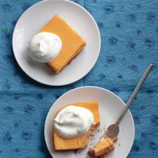 Sweet Potato-Cheesecake Squares