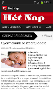 Hét Nap- screenshot thumbnail