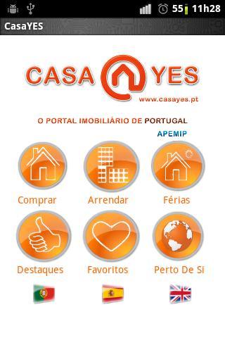 CasaYES- screenshot