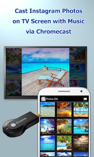 CastOnTV Instagram Chromecast- screenshot thumbnail