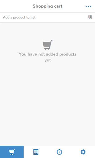 Gosh - Shopping list