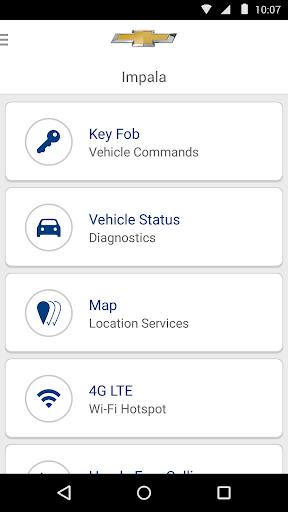 OnStar RemoteLink Screenshot