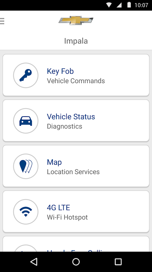 OnStar RemoteLink - screenshot