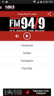 FM 94/9 San Diego / KBZT - screenshot thumbnail