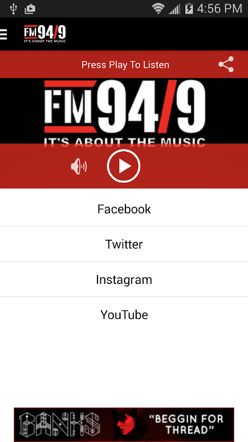 FM 94/9 San Diego / KBZT - screenshot