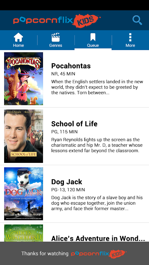 Popcornflix Kids™- screenshot