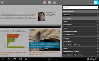 Screenshot of QuantiaMD