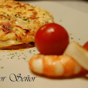 Fish and Shellfish Lasagna