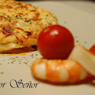 Fish and Shellfish Lasagna.