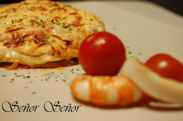 Fish and Shellfish Lasagna Recipe