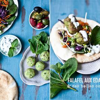 Falafel with Edamame