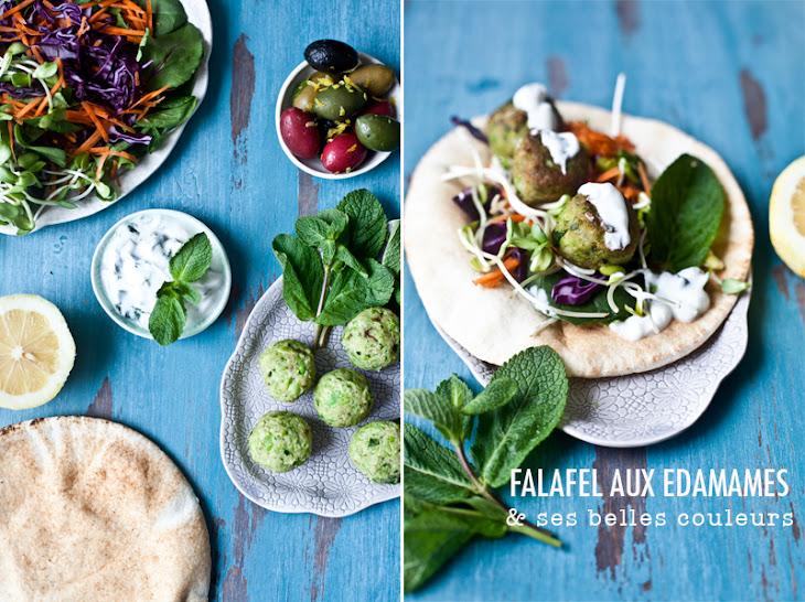 Falafel with Edamame Recipe