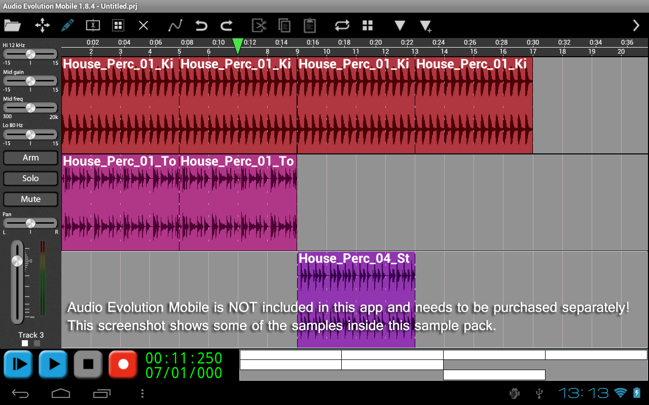 House Percussion 2 - AEMobile- screenshot