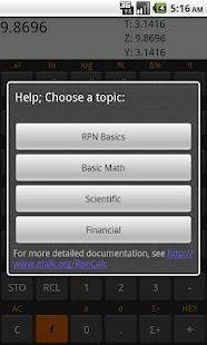 RpnCalc - screenshot thumbnail