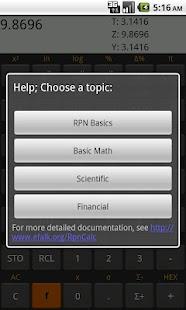RpnCalc - Rpn Calculator- screenshot thumbnail