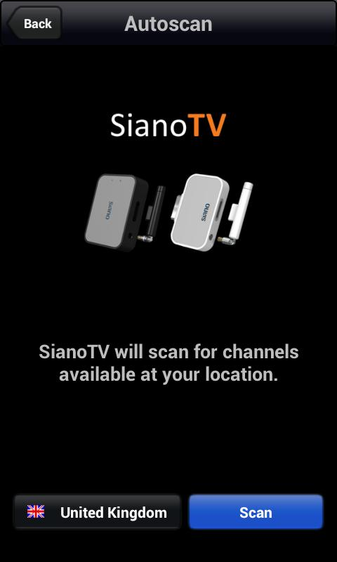 SianoTV by Siano: captura de tela