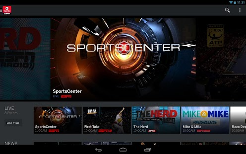 WatchESPN - screenshot thumbnail