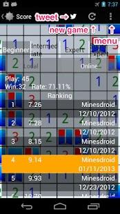 Minesdroid (Minesweeper) - náhled