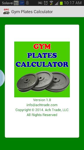 Gym Plates Calculator