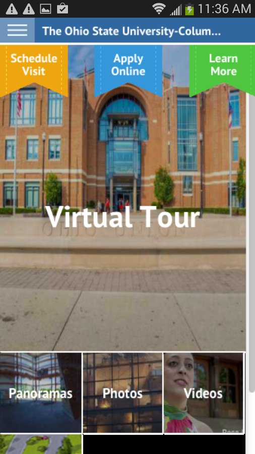 The Ohio State University- screenshot