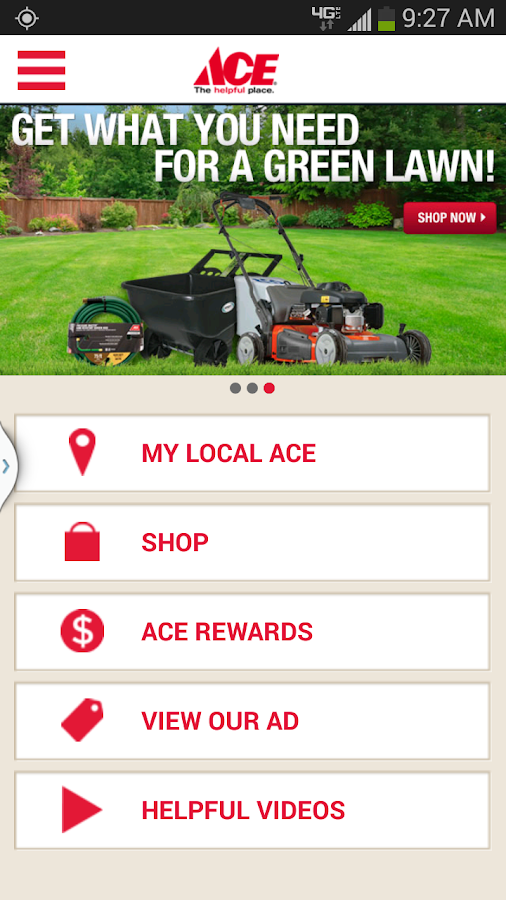 Ace Hardware- screenshot