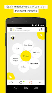 Bloom.fm - The music app - screenshot thumbnail