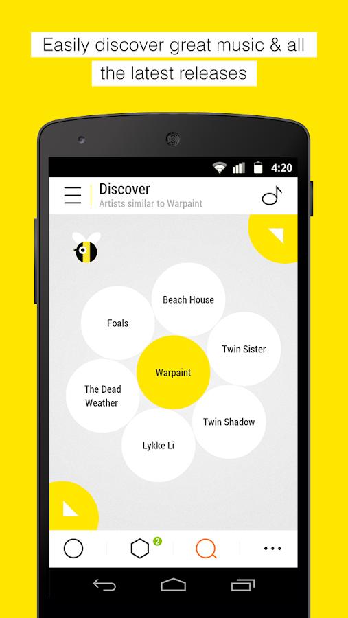 Bloom.fm - The music app - screenshot