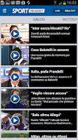 Screenshot of SportMediaset
