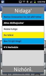 Navajo Keyboard (Diné Bizaad)- screenshot thumbnail