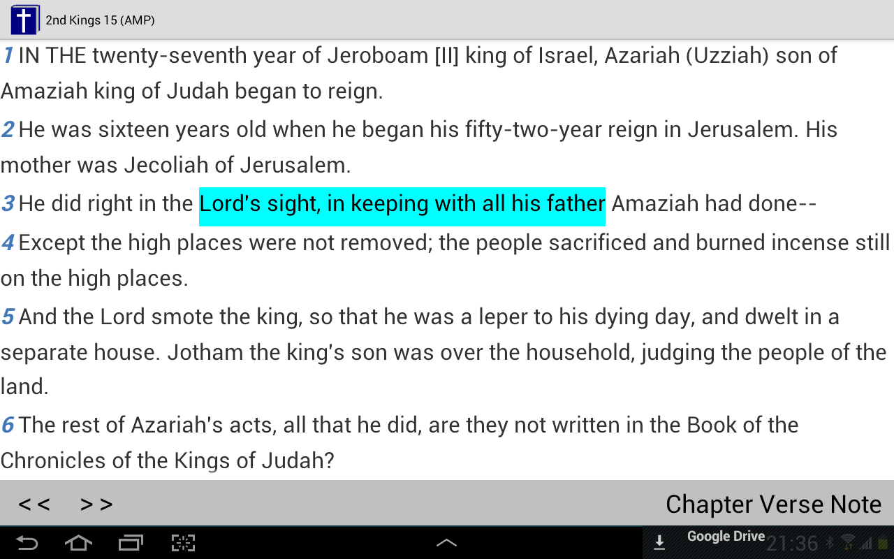 Bible Reader + KJV - screenshot