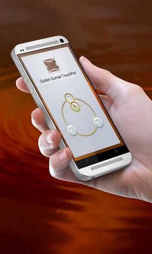 金色的夕陽 TouchPal Theme