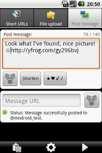 URLy - the URL sharer screenshot 2