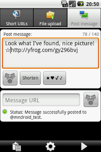 URLy - the URL sharer- screenshot thumbnail